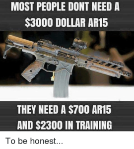 You don't need a $3000 AR…